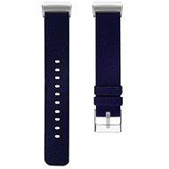 Eternico Fitbit Charge 3 / 4 Canvas, sötétkék (Large) - Szíj