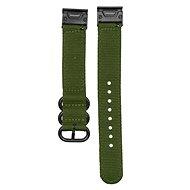 Eternico Garmin Quick Release 20 HQ Nylon zöld - Szíj