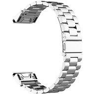 Eternico Garmin 22 Stainless Steel Band Silver Steel Buckle ezüst - Szíj