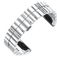 Eternico Garmin Quick Release 26 Stainless Steel Band Steel Plating ezüst - Szíj