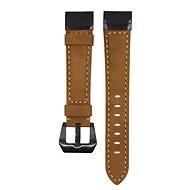 Eternico Garmin Quick Release 22 Genuine Leather barna - Szíj