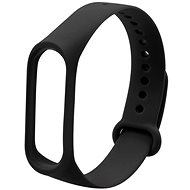 Eternico Mi Band 3 / 4 Basic, fekete - Szíj