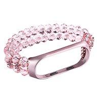 Eternico Crystal rózsaszín Mi Band 3 / 4-hoz - Szíj