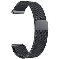 Eternico Samsung Quick Release 20 Milanese Band fekete - Szíj