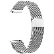 Eternico Quick Release 22 Milanese Band ezüst Samsung Galaxy Watch-hoz - Szíj