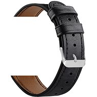 Eternico Samsung Quick Release 20 Leather Band fekete - Szíj