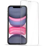 AlzaGuard Glass Protector iPhone 11 / XR készülékhez - Képernyővédő