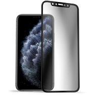 AlzaGuard Privacy Glass Protector iPhone 11 Pro / X / Xs készülékekhez - Üvegfólia