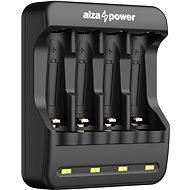 AlzaPower AP410B USB akkumulátortöltő - Elem töltő