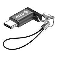 AlzaPower Keychain Micro USB - USB-C - Átalakító