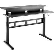 Asztal AlzaErgo Table ET3.1 fekete - Stůl
