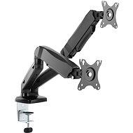 AlzaErgo Arm AR2.1 fekete - Monitorállvány