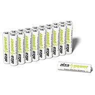 AlzaPower Super Alkaline LR03 (AAA), 20 db az öko-dobozban - Eldobható elem