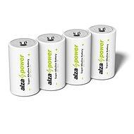 AlzaPower Super Alkaline LR20 (D) 2 db eco-dobozban - Eldobható elem