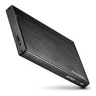 AXAGON EE25-XA6 ALINE fekete - Külső merevlemez ház