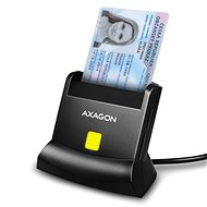 Elektronikus személyi igazolvány olvasó AXAGON CRE-SM2 Smart card & SD / microSD / SIM card