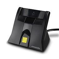 AXAGON CRE-SM4 USB intelligens kártya StandReader - Elektronikus személyi igazolvány olvasó