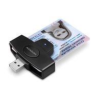 AXAGON CRE-SM5 ID Card PocketReader - Elektronikus személyi igazolvány olvasó