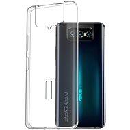 AlzaGuard Asus Zenfone 7 készülékhez áttetsző - Mobiltelefon hátlap