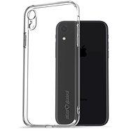 AlzaGuard iPhone Xr készülékhez áttetsző - Mobiltelefon hátlap