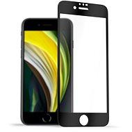 AlzaGuard 2.5D FullCover üvegvédő az iPhone 7/8/SE 2020 készülékre - Képernyővédő