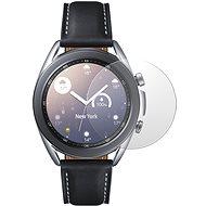 AlzaGuard FlexGlass Samsung Galaxy Watch 3 41mm okosórához - Képernyővédő