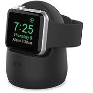 AhaStyle Szilikon állvány Apple Watch okosórához - fekete - Óratartó