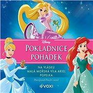 Audiokniha MP3 Disney - Na vlásku, Malá mořská víla Ariel, Popelka