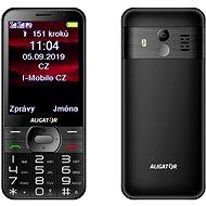 ALIGATOR A900 GPS Senior fekete - Mobiltelefon