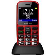 Aligator A690 Senior piros - Mobiltelefon