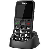 Aligator A675 Senior fekete - Mobiltelefon