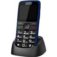 Aligator A675 Senior kék - Mobiltelefon