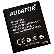 Akkumulátor az Aligator S4060 DUO számára, Li-Ion, bulk - Mobiltelefon akkumulátor