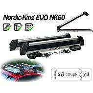 Nordrive Nordic King Evo Carrier 6 pár síléchez/4 snowboardhoz - Síszállító