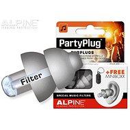 ALPINE PartyPlug ezüstszürke - Füldugók