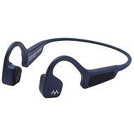 AMA BonELF X, kék - Mikrofonos fej-/fülhallgató