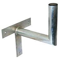 Hárompontos galvanizált tartókonzol, 250/120/28, 25 cm a faltól - Konzol