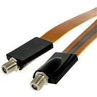 Ablakpersely 0,5 m, F csatlakozók - Antennakábel