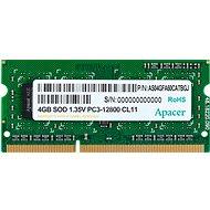 Apacer SO-DIMM 4GB DDR3 1600MHz CL11 - Rendszermemória