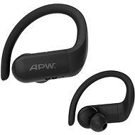 AlzaPower BENDERS fekete - Vezeték nélküli fül-/fejhallgató