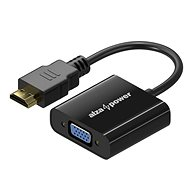 AlzaPower HDMI (M) - VGA (F) 0.1m - Adapter