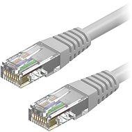 AlzaPower Patch CAT5E UTP keresztezve 10 m szürke - Hálózati kábel