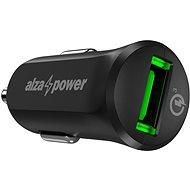 AlzaPower Car Charger X311 Quick Charge 3.0 fekete - Autós töltő