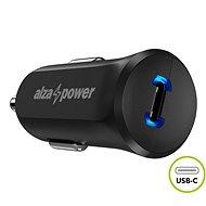 AlzaPower Car Charger P310 Power Delivery, fekete - Autós töltő