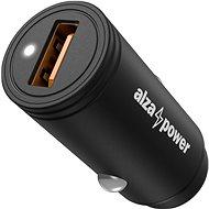 AlzaPower X510 gyors töltő fekete - Autós töltő