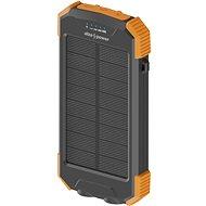 AlzaPower SolarScout 10000mAh narancssárga - Powerbank