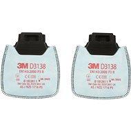 3M Secure Click D3138 P3 R részecskeszűrő - Légzésvédő szűrőbetét