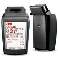 3M D9038 Secure Click P3 R részecskeszűrő - 2 db-os csomag - Légzésvédő szűrőbetét