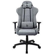 AROZZI TORRETTA Soft Fabric Ash - Gamer szék