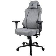 AROZZI PRIMO Woven Fabric szürke színű fekete logóval - Gamer szék